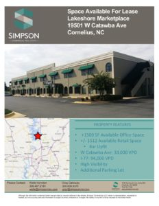 Lakeshore Marketplace Flyer - Simpson Commercial Real Estate